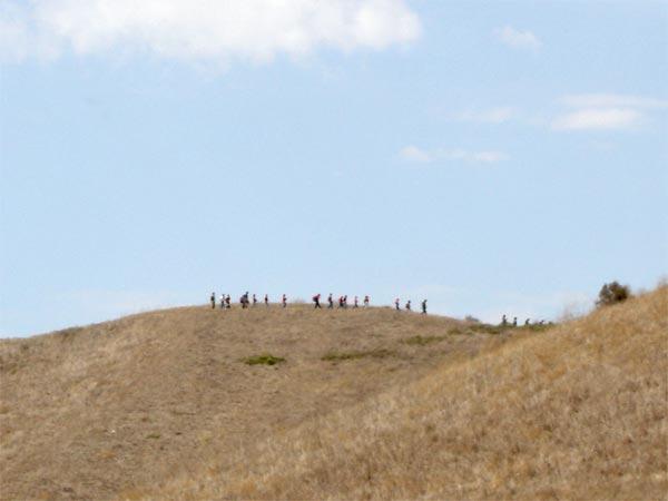 Campers Hike